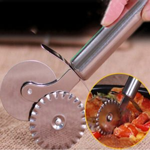 Pastry Wheel Double ended Stainless Steel