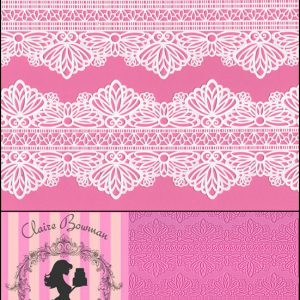 Serenity Cake Lace Mat by Claire Bowman