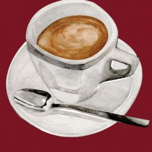 Tea Towel Microfibre  - Cappuccino