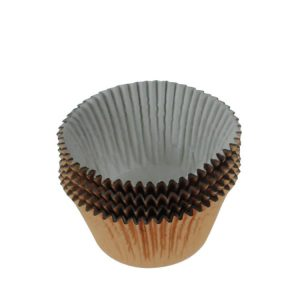 Cupcake Baking Cups pack 48 Gold