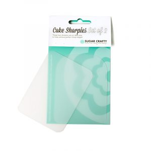 Cake Sharpies Smoothers for Fondant set 2 by Sugar Crafty