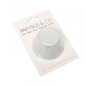 Baking Cups Foil Cupcake Standard 50 pack White